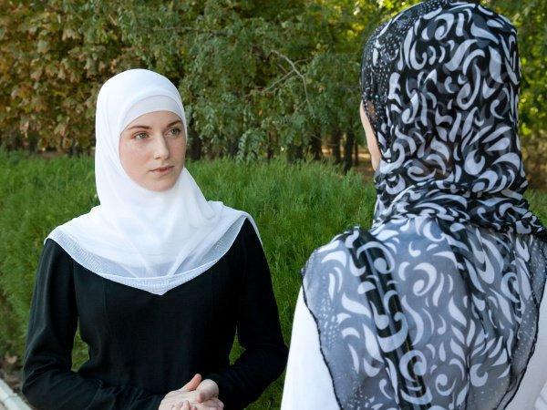 Русская мусульманка...