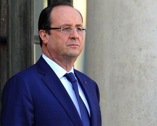 Олланд провел встречу с Масудом Барзани.