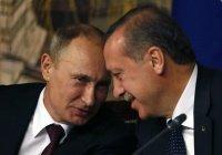 Путин поздравил Эрдогана с 65-летием