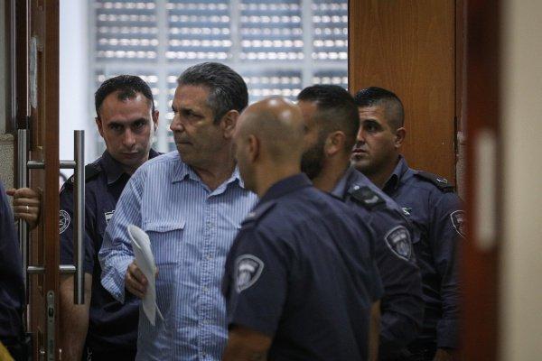 Гонен Сегев на заседании суда.
