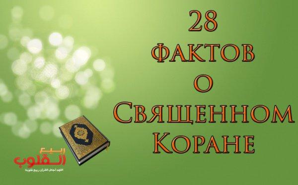 28 фактов о Коране, которые должен знать каждый мусульманин