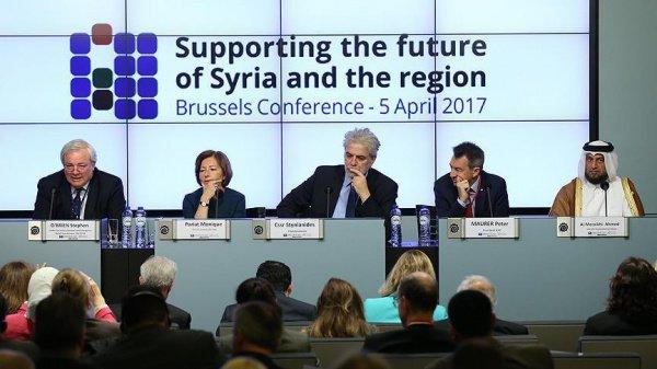 Власти Сирии не приглашены на конференцию в Брюсселе.