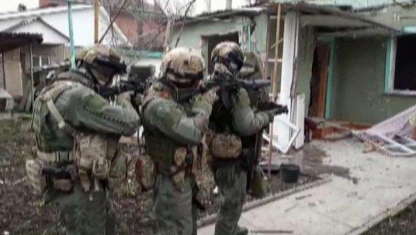 Антитеррористическая операция в Нальчике.