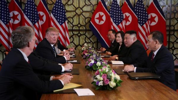 Переговоры лидеров США и КНДР.
