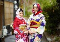 В Японии придумали хиджаб в стиле кимоно