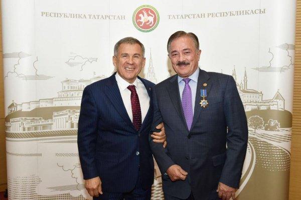 Рустам Минниханов и Камиль Исхаков.