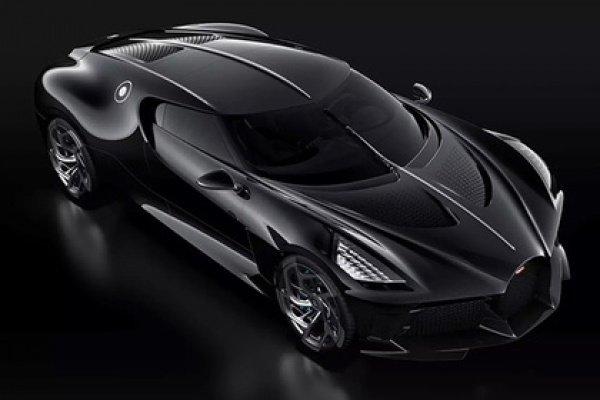 Цена гиперкара Bugatti La Voiture Noire — 11 млн. евро