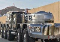 10-колесный внедорожник-гигант презентовали в ОАЭ