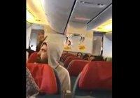В Турции опубликовали видео из попавшего в сильную турбулентность самолёта