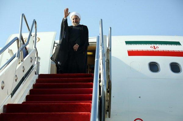 Хасан Роухани пробудет в Ираке три дня.