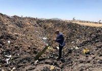 Очевидцы: разбившийся боинг Ethiopian Airlines начал дымиться еще в воздухе