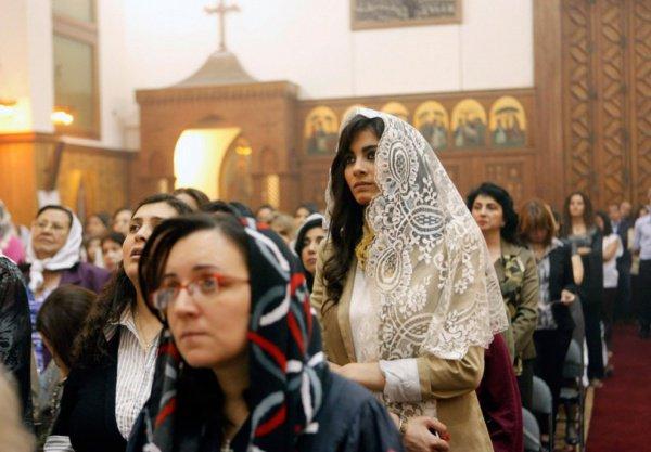 Копты составляют около 9% населения Египта.