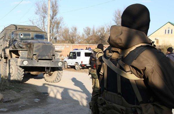 Спецоперация в Самарской области.