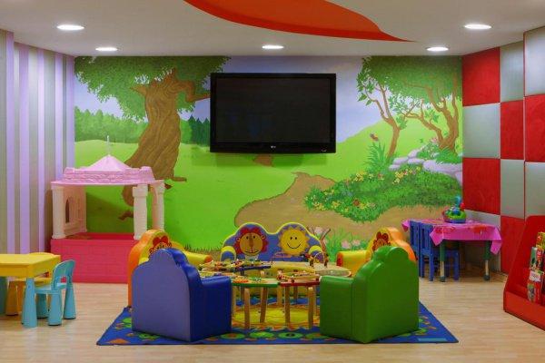 Паломники смогут оставлять своих детей в детском саду.