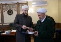 Муфтий Узбекистана поблагодарил ДУМ РТ за сохранение ценностей ханафитского мазхаба