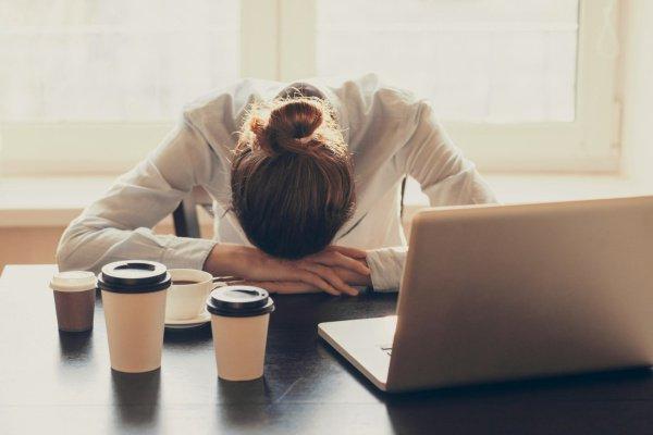20-минутный дневной сон для повышения производительности труда эффективнее, чем 200 миллиграммов кофеина