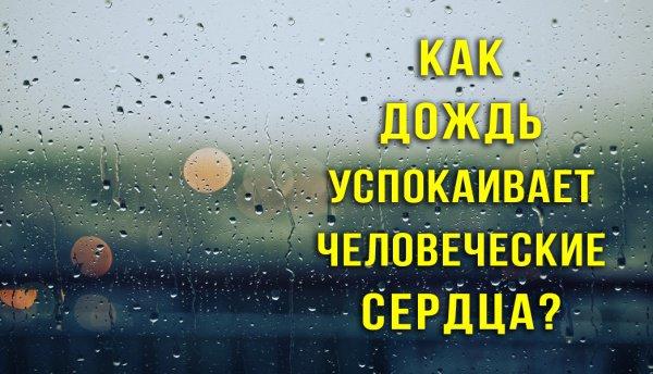 Связь между дождем и страхом