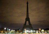 Эйфелева башня погасит огни в память о жертвах терактов в мечетях