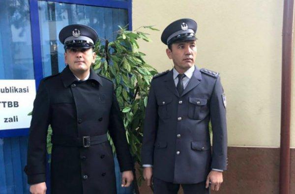 Новая форма правоохранителей Узбекистана.