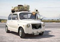 В Швейцарии автомобили превратили в животных (ВИДЕО)