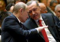 Эрдоган получил приглашение Путина на открытие Соборной мечети в Крыму