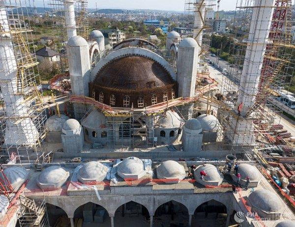 Соборная мечеть Крыма станет одной из крупнейших в Европе.