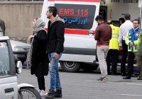 В аэропорту Тегерана десятки человек эвакуировали из горящего самолета