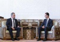 Шойгу передал Асаду послание Путина