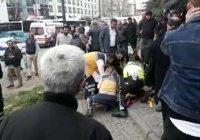 В Стамбуле автобус протаранил толпу пешеходов
