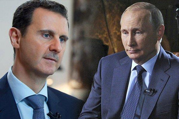 Президент России передал послание сирийскому коллеге.
