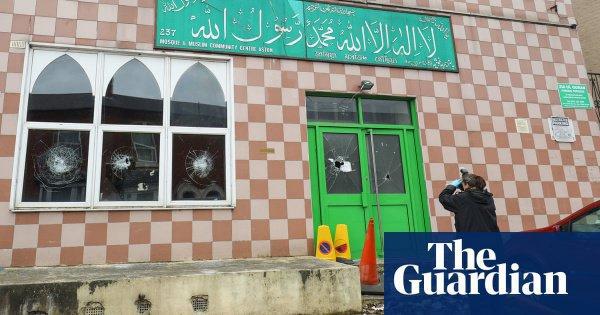Фото одной из пострадавших мечетей.
