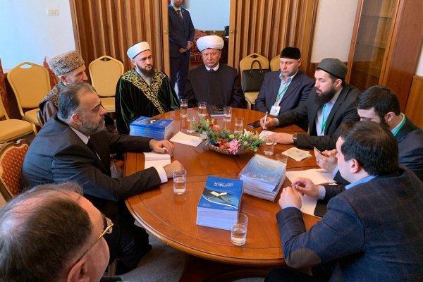 Межрелигиозная конференция проходит в Москве.