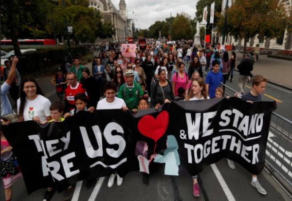 В Новой Зеландии прошел марш любви в поддержку мусульман