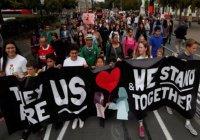 Марш любви в поддержку мусульман