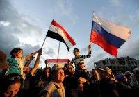 В Сирии назвали Россию «ведущим миротворцем на Ближнем Востоке»