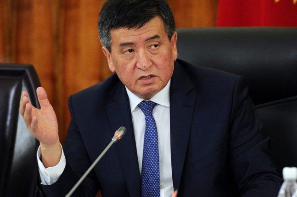 Президент Киргизии высказался по статусу русского языка