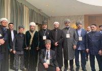 Муфтий РТ принимает участие в Международной богословской конференции