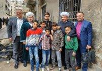 Представитель ДУМ РТ в составе рабочей группы по оказанию помощи населению Сирии посетил Дамаск