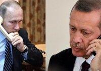 Президенты России и Турции обсудили подготовку к заседанию Совета сотрудничества