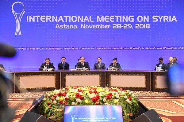 Предыдущая встреча по Сирии в астанинском формате прошла в ноябре 2018 года.