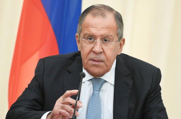 Глава российского МИД начинает визиты в Египет и Иорданию.