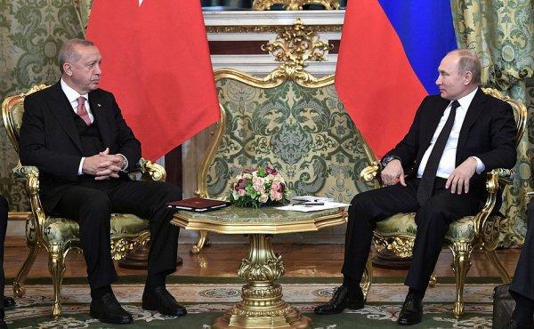 Путин и Эрдоган проведут совместную встречу с ведущими представителями турецкого и российского бизнеса