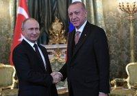 Владимир Путин рассказал о переговорах с президентом Турции
