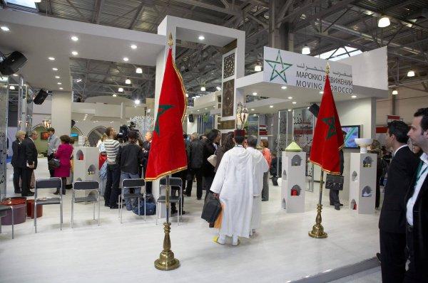 Российские и арабские бизнесмены обсуждают сотрудничество.