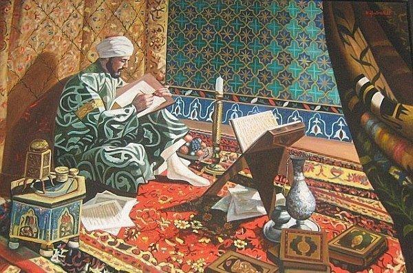 Поэзия Востока: касыда, кыта и дастан...