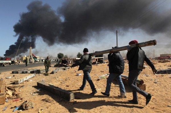 В Ливии продолжаются новые столкновения.