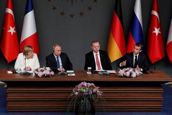 Предыдущий саммит четырех стран по Сирии прошел в октябре минувшего года.
