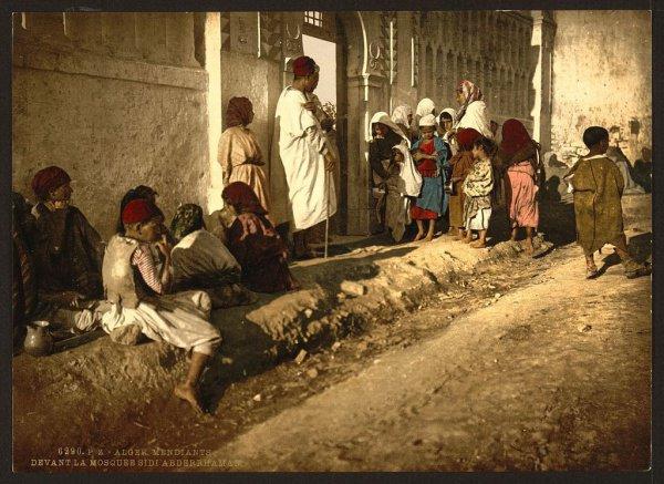 Путешествие во времени: цветные фотографии Алжира 1899 года