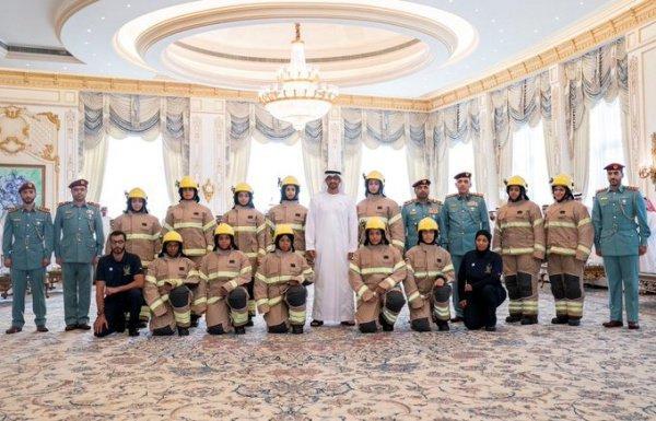 Женскую пожарную бригаду создали в ОАЭ