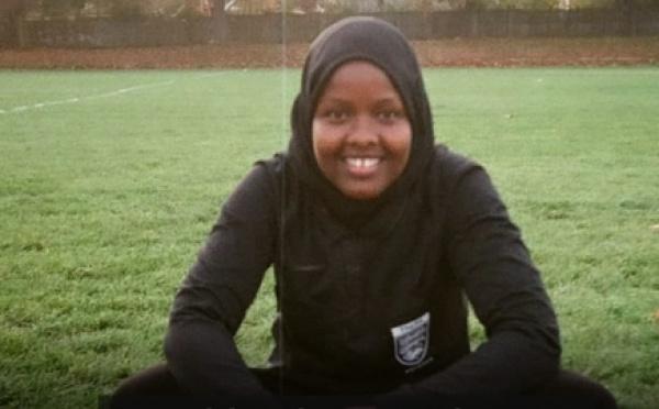 Первая мусульманка-рефери в хиджабе